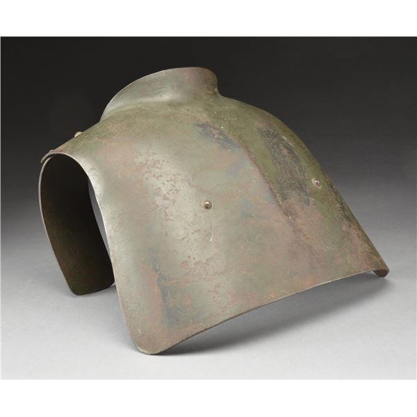 WWI GERMAN TRENCH ARMOUR CHEST PLATE.