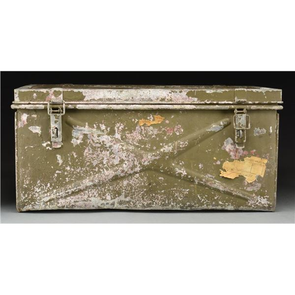 WWII GERMAN WAFFEN SS EQUIPMENT BOX.