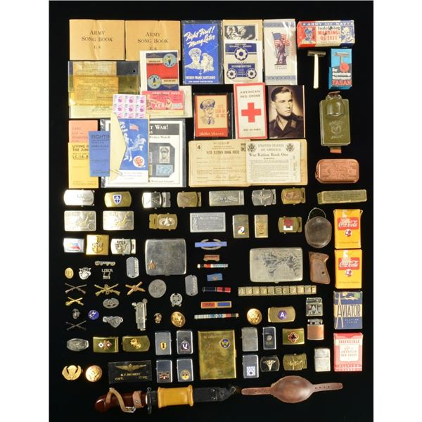 MOSTLY AMERICAN WWII MILITARIA & MORE.