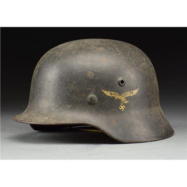 WWII GERMAN LUFTEWAFFE M1940 HELMET.