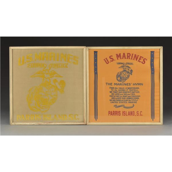 FRAMED RIBBON BAR CHARTS & MARINE WALL HANGINGS.
