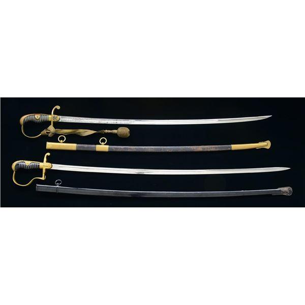 2 GERMAN SWORDS.