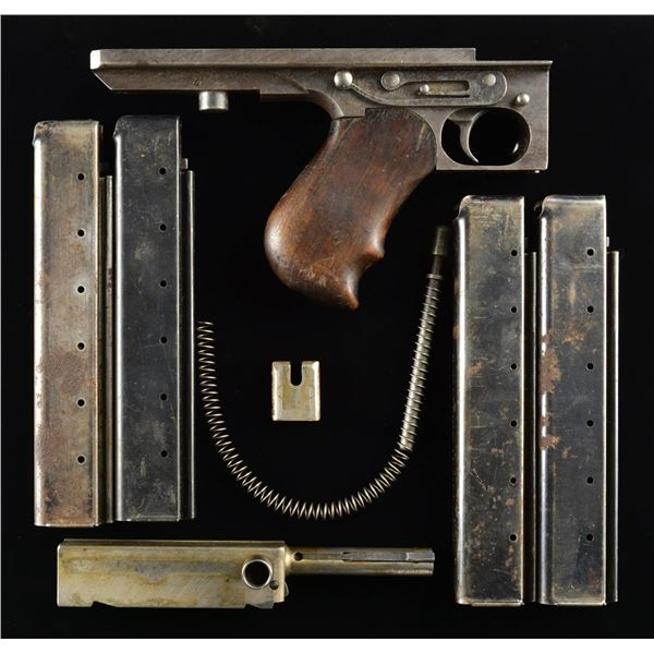 THOMPSON SMG M1 PARTS & MAGS.