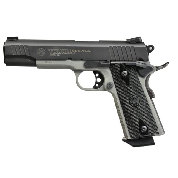 TAURUS PT1911 WITH TWO TONE FINISH.