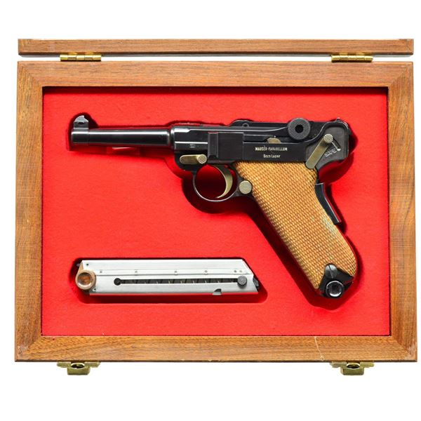 MAUSER / INTERARMS SWISS STYLE, EAGLE LUGER SEMI