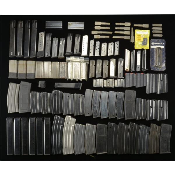 MILITARY & COMMERCIAL, PISTOL & RIFLE MAGAZINES.
