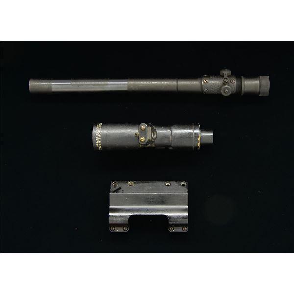 US WWII M73B1 SNIPER SCOPE & M40A2 TELESCOPIC TANK