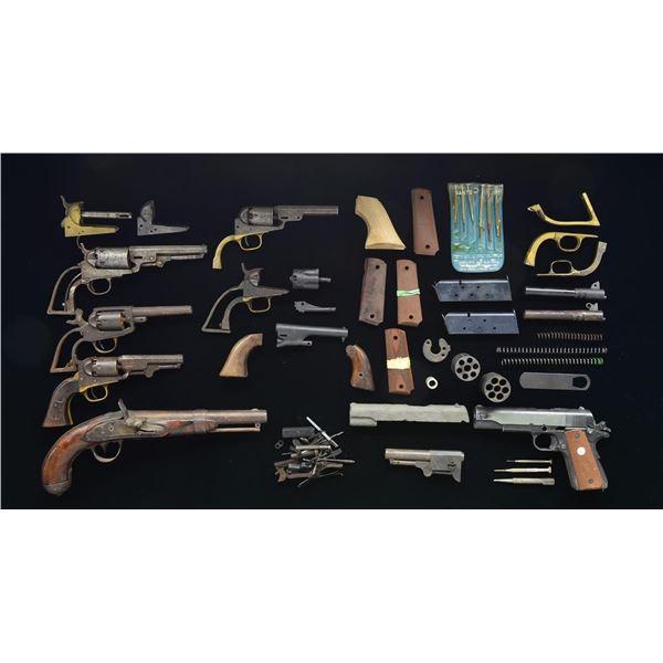ANTIQUE HANDGUN PARTS GUNS & 1911 PARTS.
