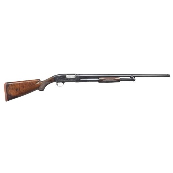 WINCHESTER MODEL 12 ULRICH ENGRAVED PIGEON GRADE