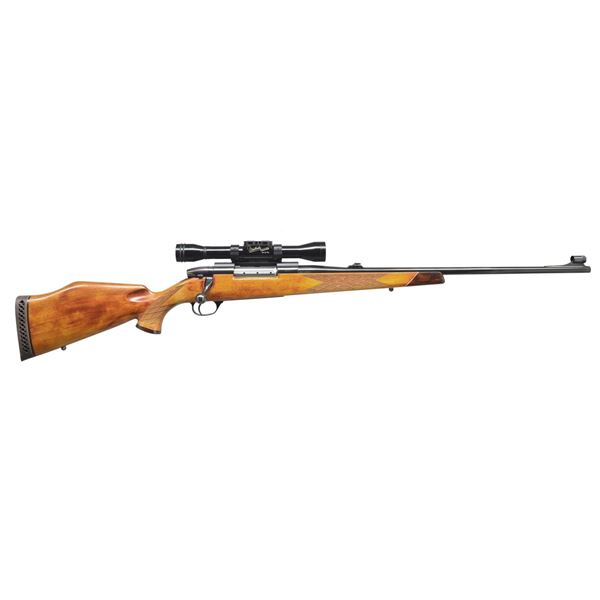WEATHERBY MARK V DELUXE BOLT ACTION RIFLE.