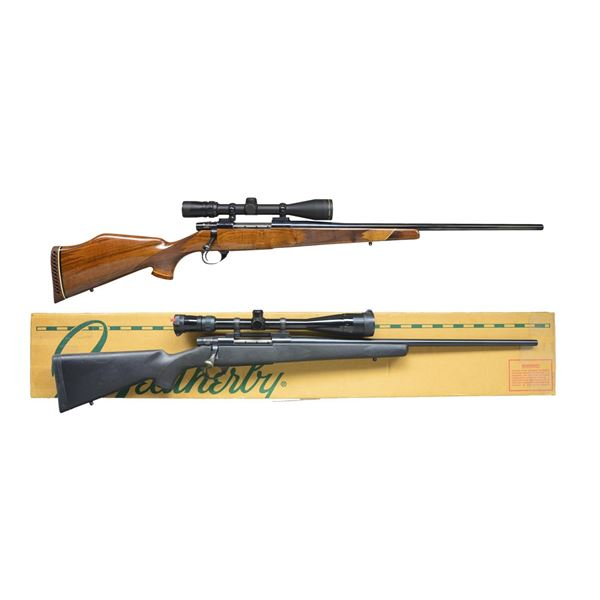 2 WEATHERBY VANGUARD BOLT ACTION RIFLES.