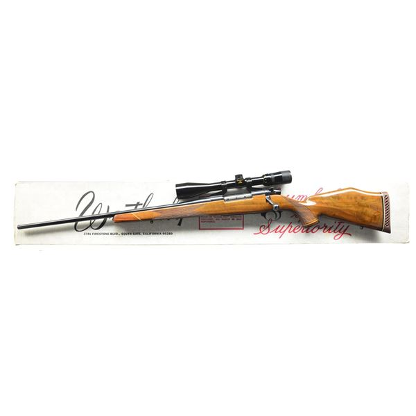 WEATHERBY MARK V DELUXE LEFT HAND BOLT ACTION