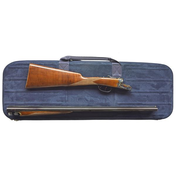 28 GAUGE BOXLOCK EJECTOR SHOTGUN BY DICKINSON WITH