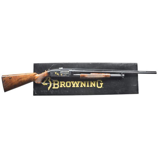 BROWNING MODEL 12 GRADE V PUMP SHOTGUN.