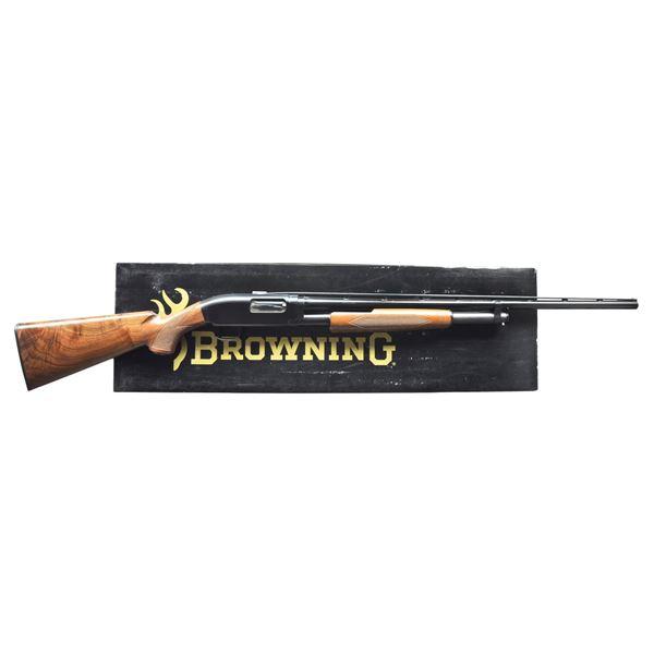 BROWNING MODEL 12 GRADE I PUMP SHOTGUN.