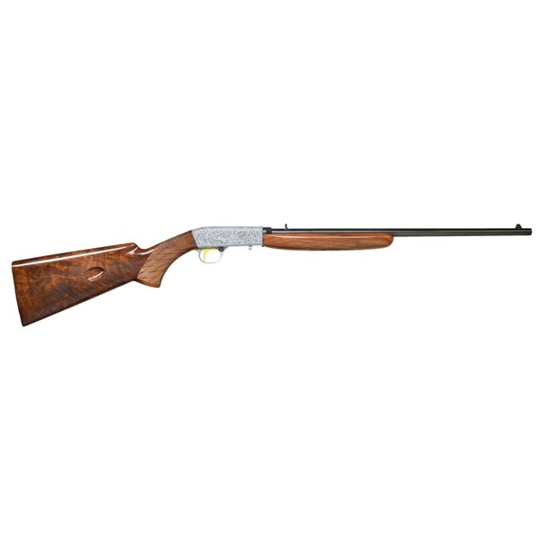 BROWNING 22 TAKEDOWN GRADE III SEMI AUTO RIFLE.