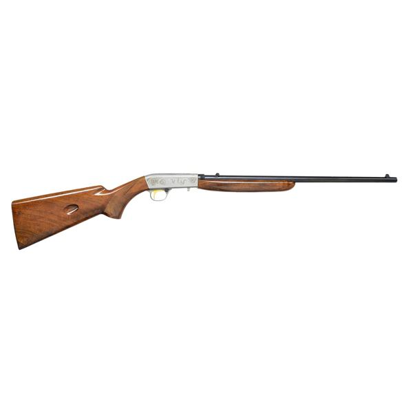 BROWNING 22 TAKEDOWN GRADE II SEMI AUTO RIFLE.