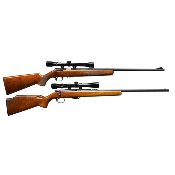 BROWNING T-2 & REMINGTON 591 BOLT ACTION RIFLES.