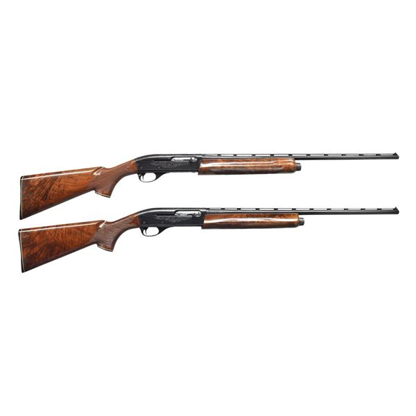 MATCHED PAIR OF REMINGTON MODEL 1100-SD TOURNAMENT