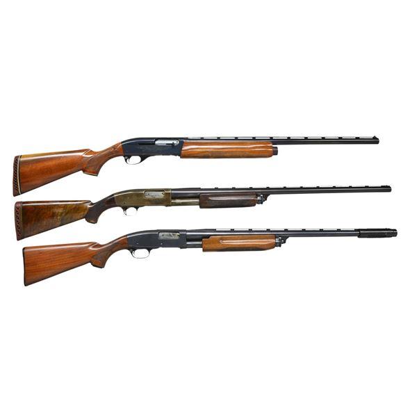 REMINGTON 1100 & 2 MODEL 31 SHOTGUNS.