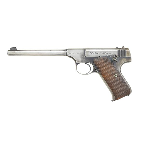 COLT WOODSMAN FIRST ISSUE TARGET MODEL SEMI