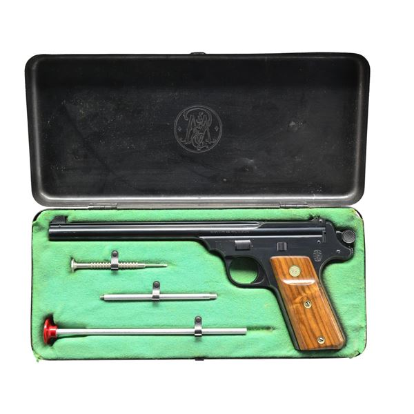 SMITH & WESSON 4TH MODEL STRAIGHT LINE SINGLE SHOT