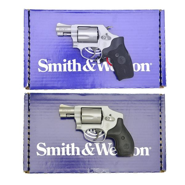 SMITH & WESSON 637-2 & 642-2 DA REVOLVERS.