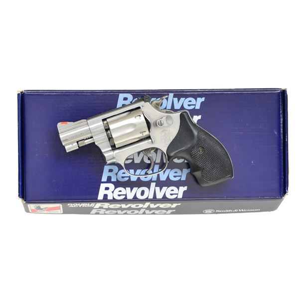 SMITH & WESSON MODEL 63-3 DA REVOLVER.