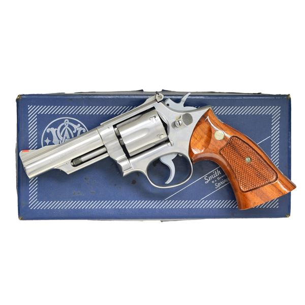SMITH & WESSON MODEL 66 DA REVOLVER.