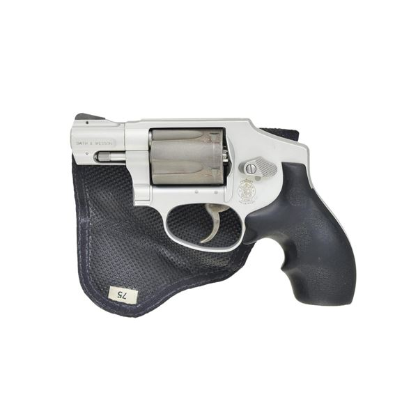 SMITH & WESSON MODEL 342 AIRLITE TI DAO REVOLVER.