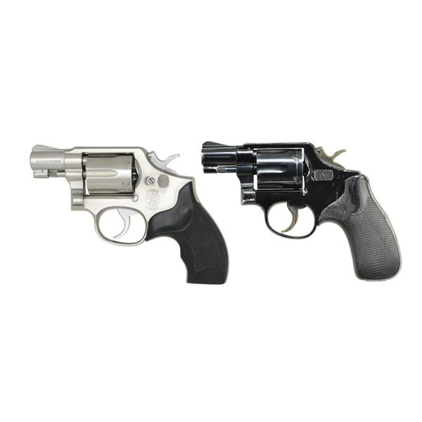SMITH & WESSON 64-4 & MODEL 12 AIRWEIGHT DA