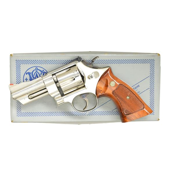 SMITH & WESSON MODEL 27-2 DA REVOLVER.