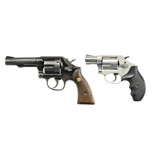 2 SMITH & WESSON 38 SPL. REVOLVERS: MODEL