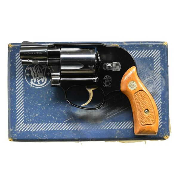 SMITH & WESSON MODEL 38 BODYGUARD AIRWEIGHT DA