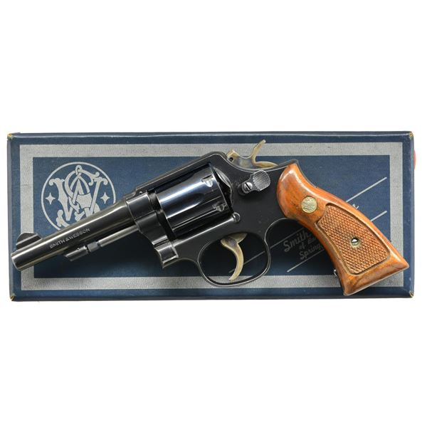 SMITH & WESSON MODEL 10-7 DA REVOLVER.