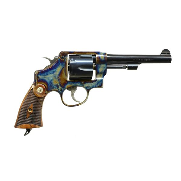 SMITH & WESSON MODEL 22-4 DA REVOLVER.