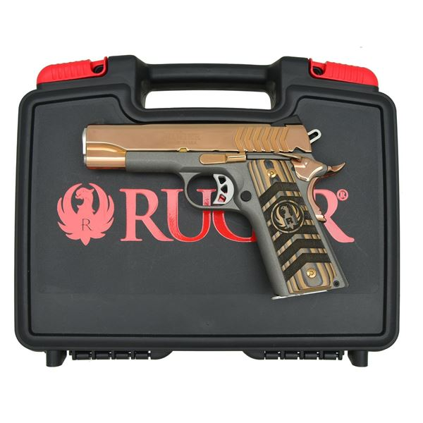 RUGER ROSE GOLD MODEL SR1911 LW COMMANDER SEMI