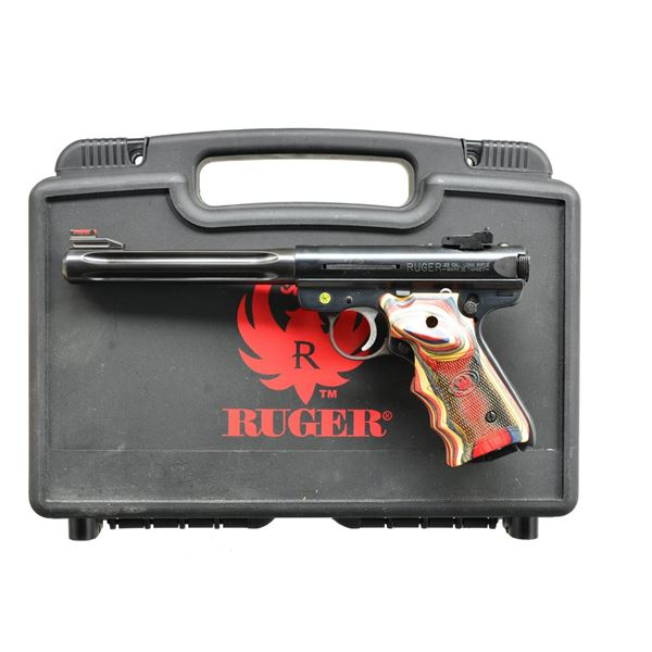 RUGER MKIII HUNTER SEMI AUTO PISTOL, DISPLAYED AT