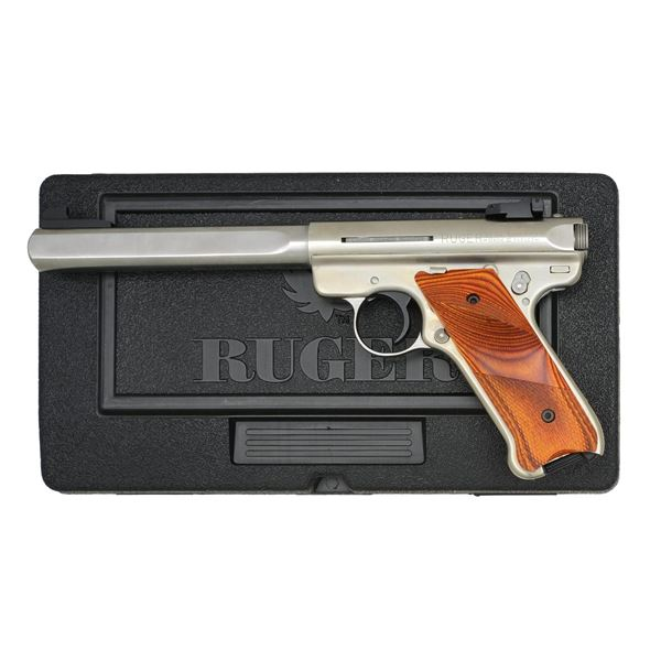 RUGER STAINLESS MKIII COMPETITION TARGET SEMI AUTO