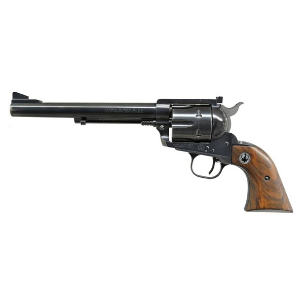 "SCARCE RUGER 7 1/2"" FLAT TOP 44 REVOLVER."