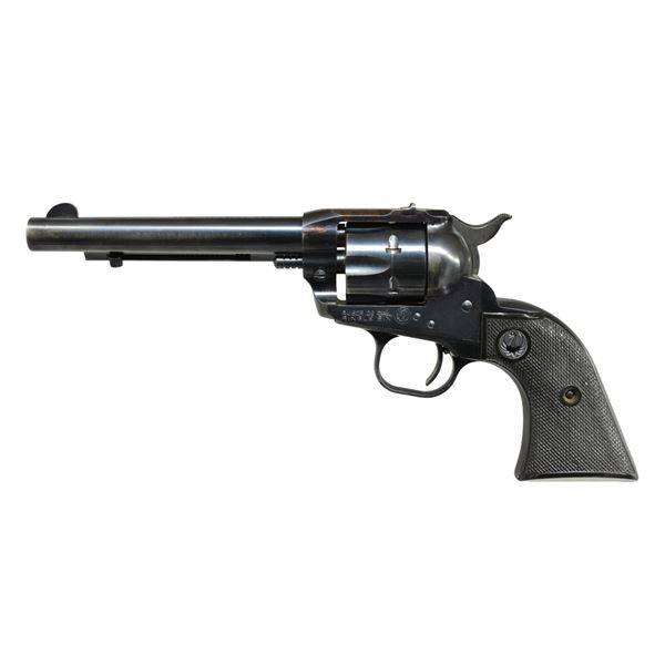 RUGER S# 691 SINGLE SIX FLAT GATE REVOLVER.