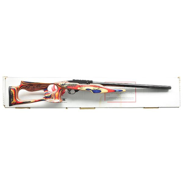 1984 U.S. SHOOTING TEAM SIGNED RUGER 10/22 SEMI