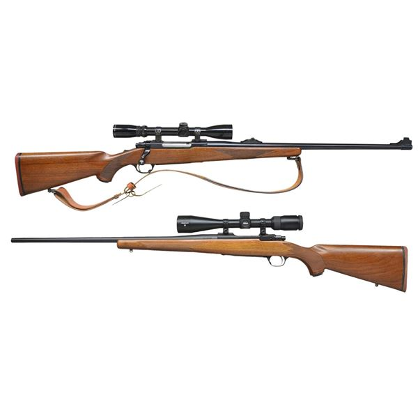 RUGER MODEL 77RS & 77 HAWKEYE BOLT ACTION RIFLES.