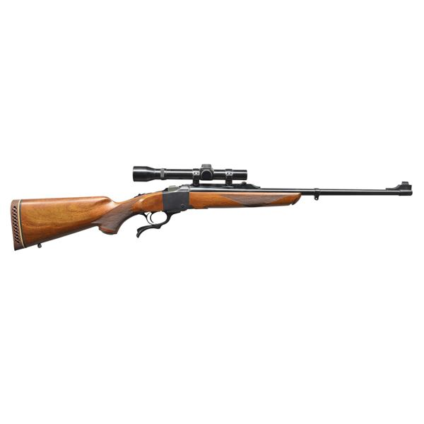 RUGER NO. 1A SINGLE SHOT RIFLE.