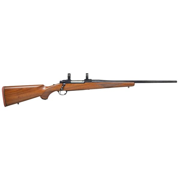 RUGER TANG SAFETY MODEL 77R BOLT ACTION RIFLE.