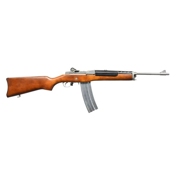 RUGER MINI 14 STAINLESS STEEL CARBINE.