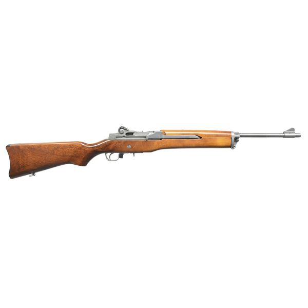 EARLY STAINLESS RUGER MINI-14.