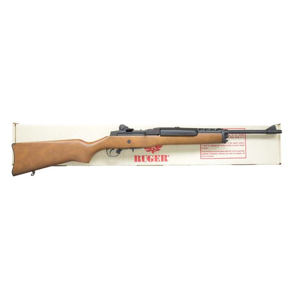 LIKE NEW RUGER MINI 14 BLUED CARBINE WITH