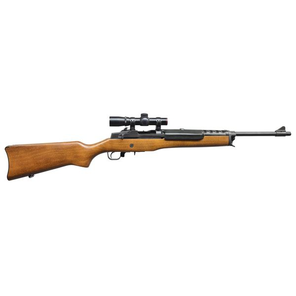 RUGER MINI-THIRTY SEMI AUTO RIFLE.