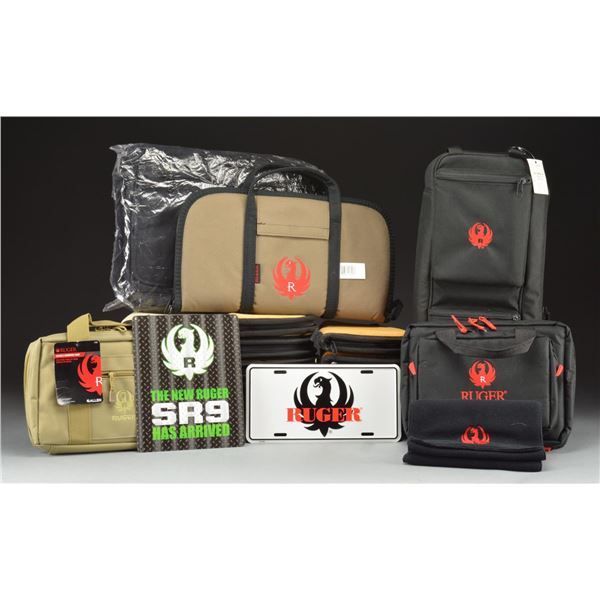 COLLECTION OF RUGER MEMORABILIA.